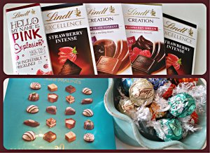 Chokladcollage